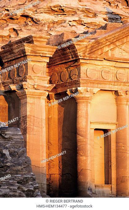 "Jordan, Petra, ""Ed Deir tomb called the monastery"