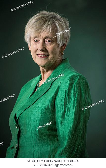 EDINBURGH, SCOTLAND, Tuesday 25th, AUGUST 2015: British author and former Director General of MI5, Dame Stella Rimington