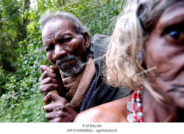 OLD TRIBAL COUPLE OF WAYANAD DISTRICT