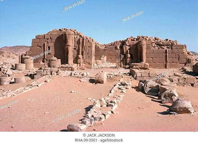 The Central Temple, Musawwarat es Sofra, Sudan, Africa