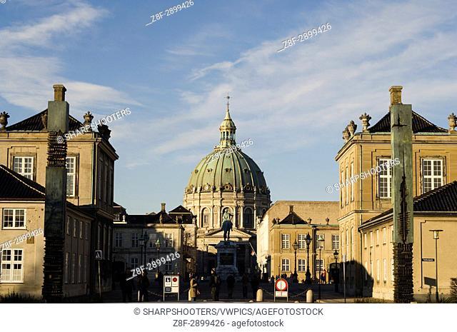 Amalienborg Royal palace