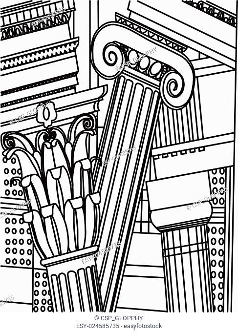 Roman Corinthian Columns