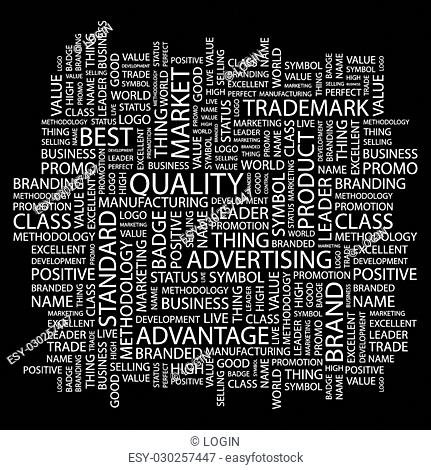 Quality management word cloud Stock Photos and Images | age