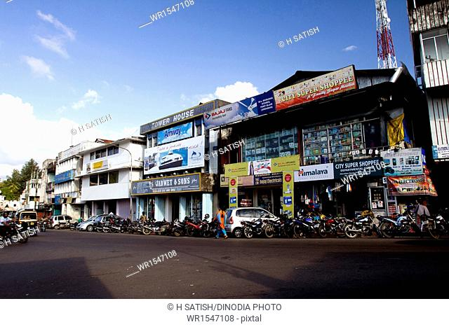 Aberdeen Bazar Port Blair at Andaman islands India Asia