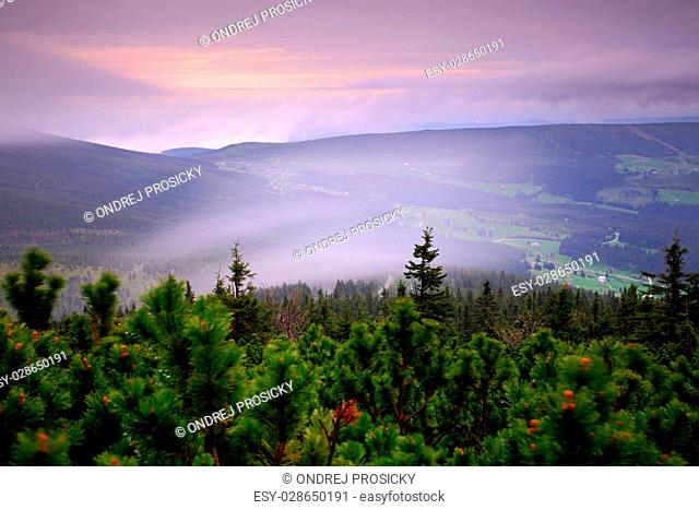 Krkonose mountain, Czech Republic