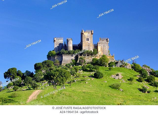 Spain , Andalucia Region,Cordoba Province,Almodovar del Rio City , Almodovar Castle