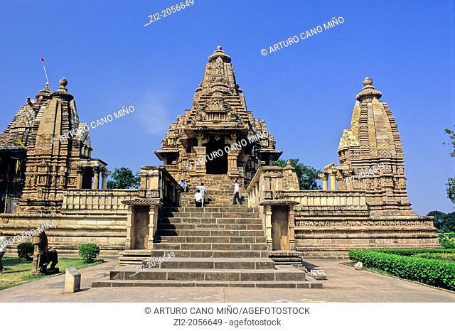 Varaha temple, X-XI centuries, Khajuraho Group of Monuments, UNESCO World Heritage Site, Madhya Pradesh, India, Asia