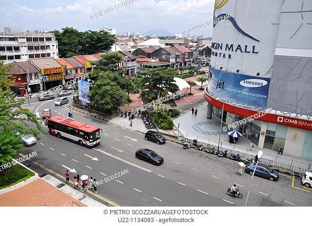George Town, Penang (Malaysia): mall by the Komtar Tower