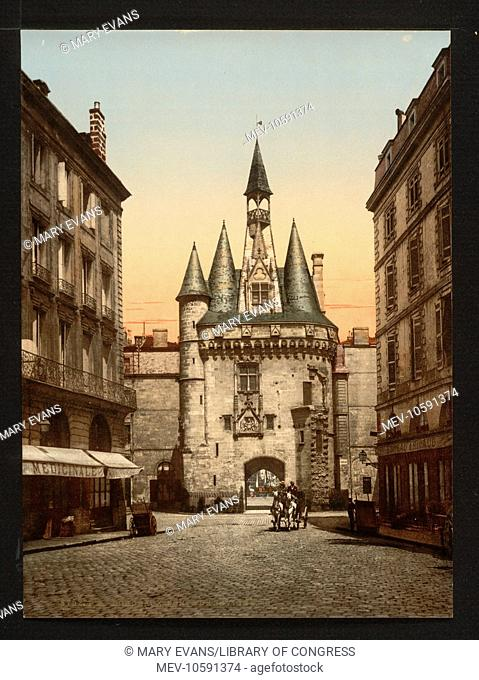 Sevigne gate, Bordeaux, France. Date between ca. 1890 and ca. 1900