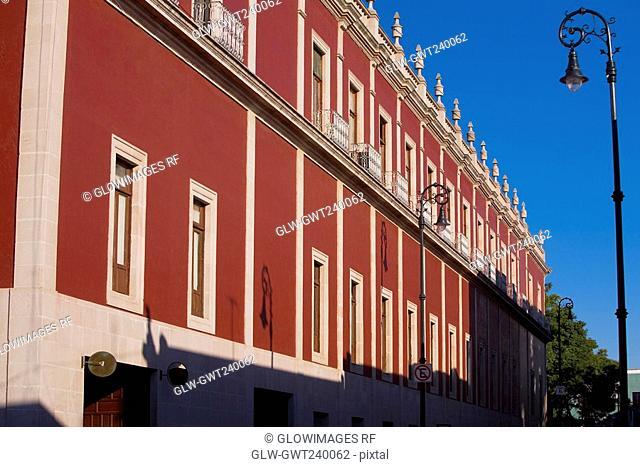 Low angle view of a government building, Palacio De Gobierno, Aguascalientes, Mexico