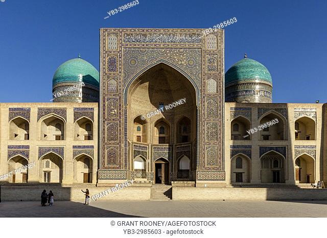 The Mir-i-Arab Madrassa, Bukhara, Uzbekistan