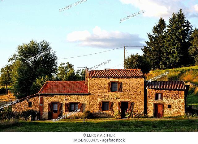 France, Auvergne, Saint Gervais sous Meymont, resting place