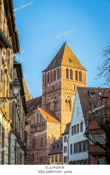 France, Alsace, Strasbourg, La Petite France, Thomas Church