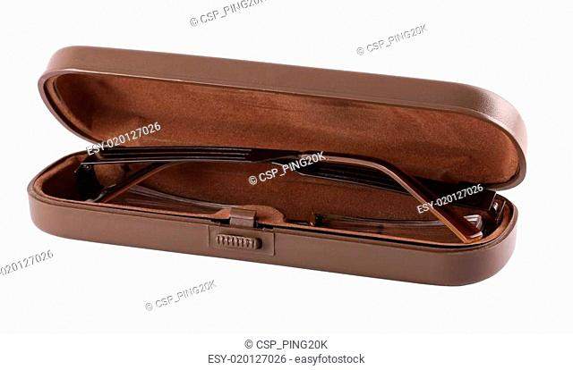 Glasses Case with glasses
