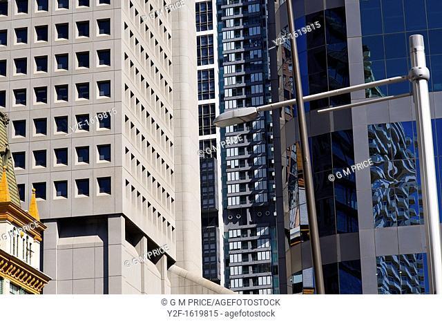 buildings on Elizabeth Street, Sydney