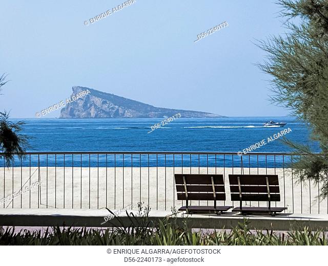 Benidorm Island, Benidorm, Alicante province, Spain