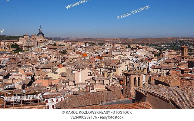 Cityscape of Toledo - view from Alcazar