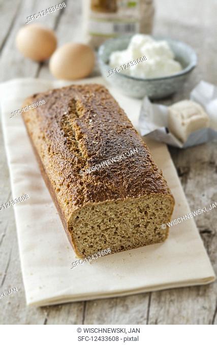 Homemade dukan bread