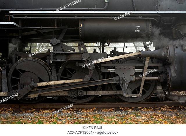 The Chehalis-Centralia Railroad steam engine. Chehalis, Washington, USA