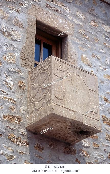 Balcony  Avdira village , Xanthi, Thrace, Greece