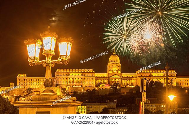 Hungary. Budapest. The Buda Castle