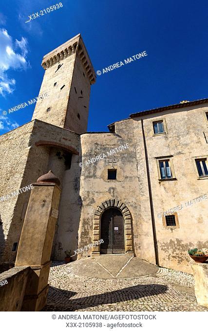 Castello Savelli. Palombara Sabina. Near Rome Italy