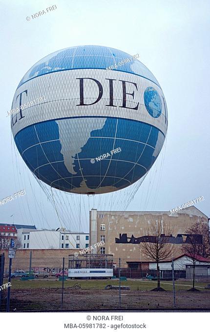 Balloon, hi-flyer, captive balloon, Berlin