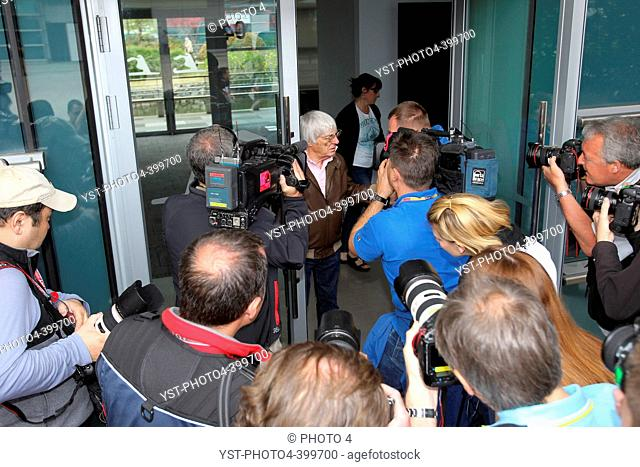 12.04.2012 Bernie Ecclestone (GBR), President and CEO of Formula One Management