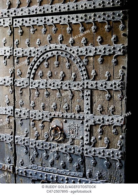 Old door, Brussels