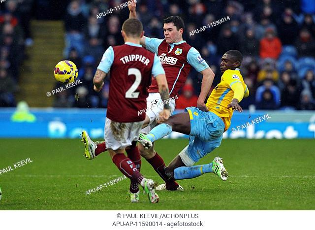 2015 Barclays Premier League Burnley v Crystal Palace Jan 17th. 17.01.2015. Burnley, England. Barclays Premier League. Burnley versus Crystal Palace