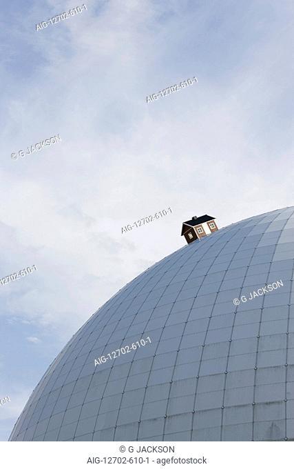 The Ericsson Globe (AKA The Stockholm Globe Arena or Globen), Stockholm