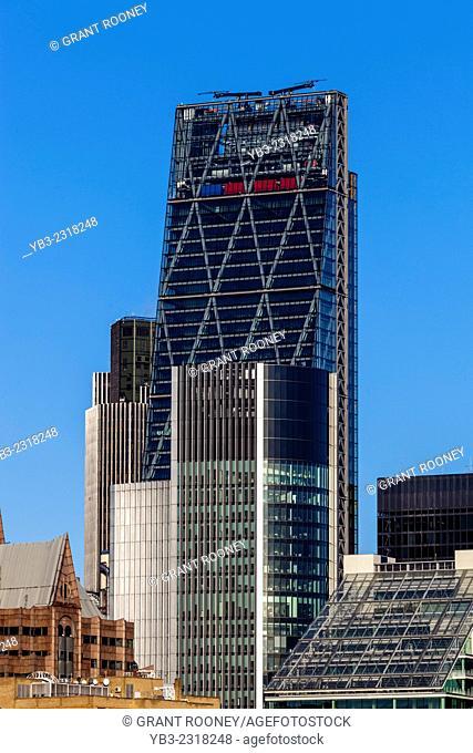 The Leadenhall Building and City Of London Skyline, London, England