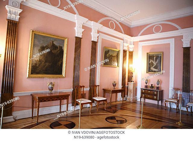 Great palace interiors (1743-1756), Architects Savva Chevakinsky, Francesco Bartolomeo Rastrelli, Pushkin, near St.Petersburg, Russia