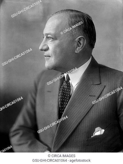 Robert F. Wagner, American Politician and U.S. Democratic Senator from New York, Portrait, circa 1931