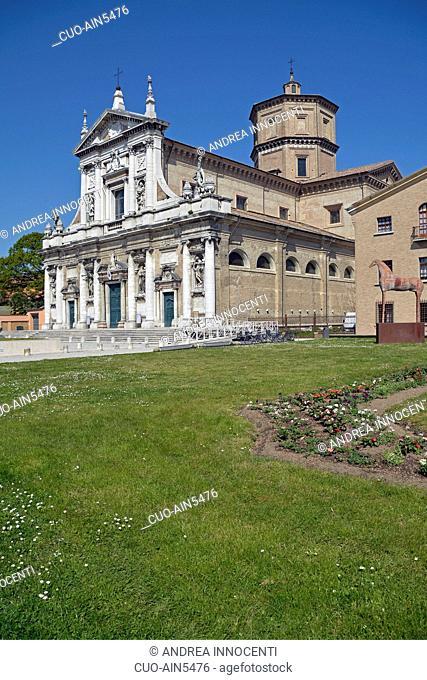 Historic center, Santa Maria in Porto Church, Ravenna, Emilia Romagna, Italy, Europe
