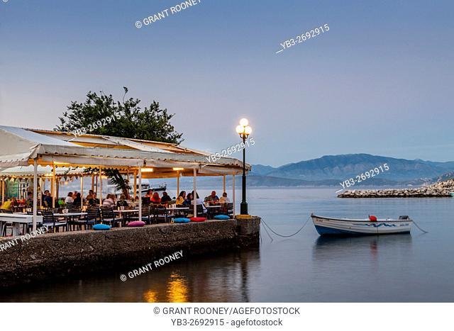 Seafront Restaurant, Kassiopi, Corfu, Greece