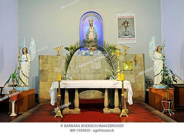 Altar, San Juan Church, La Serena, Norte Chico, northern Chile, Chile, South America
