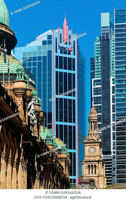 TOWN HALL - QUEEN VICTORIA BUILDING - SYDNEY - AUSTRALIA