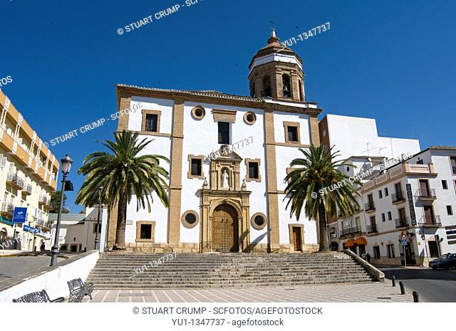 Church of La Merced in Ronda, Western province of Malaga, Andalucía, Spain