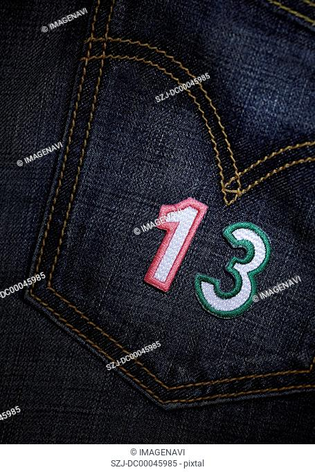 Number appliques
