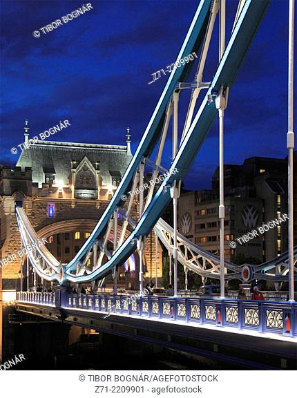 UK, England, London, Tower Bridge,