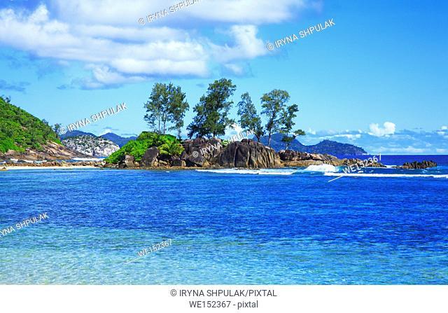 Island Petite Ile, Port Glaud, Island Mahé, Republic of Seychelles
