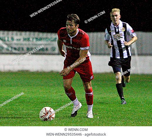 Mark Wright Ex TOWIE Star playing for Essex FC at Heybridge Swifts FC in Maldon,Essex. Featuring: Mark Wright Essex FC Where: Heybridge