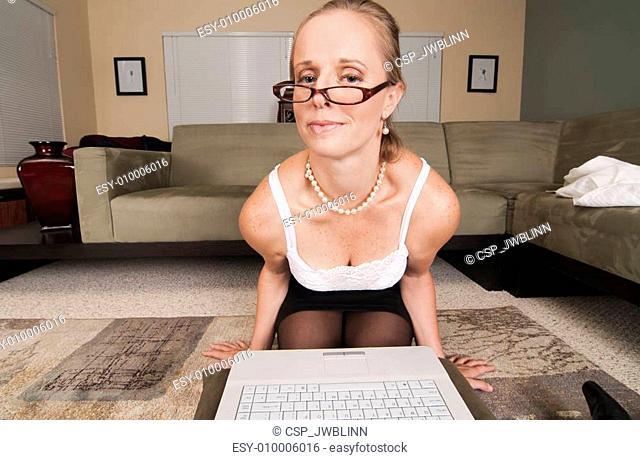 Web Cam Striptease Series