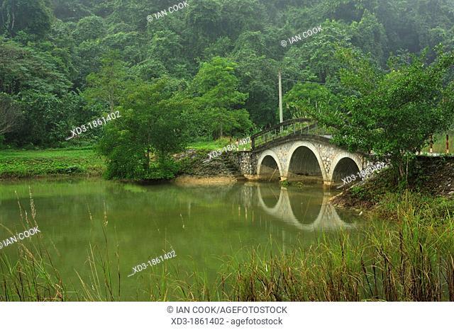 Mac Lake, Cuc Phuong National Park, Vietnam