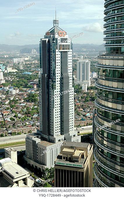 Arab-Malay Bank from Petronas Towers KLCC Kuala Lumpur City Centre Malaysia