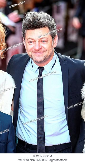 Arrivals for the Jameson Empire Awards 2016 at the Grosvenor House Hotel Featuring: Andy Serkis Where: London, United Kingdom When: 20 Mar 2016 Credit: WENN