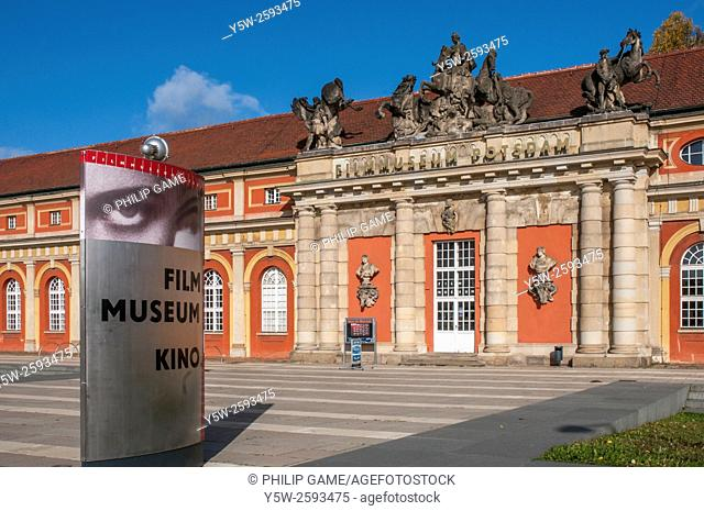 Filmmuseum or Film Museum in the Marstall Palace at Potsdam, Germany
