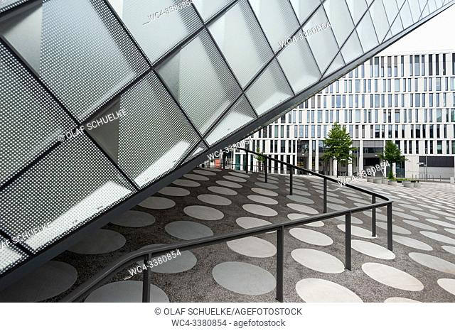 Berlin, Germany, Europe - The Futurium in the government district between Kapelle-Ufer and Alexanderufer in Mitte locality