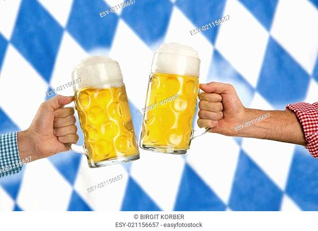 Cheers at the Oktoberfest